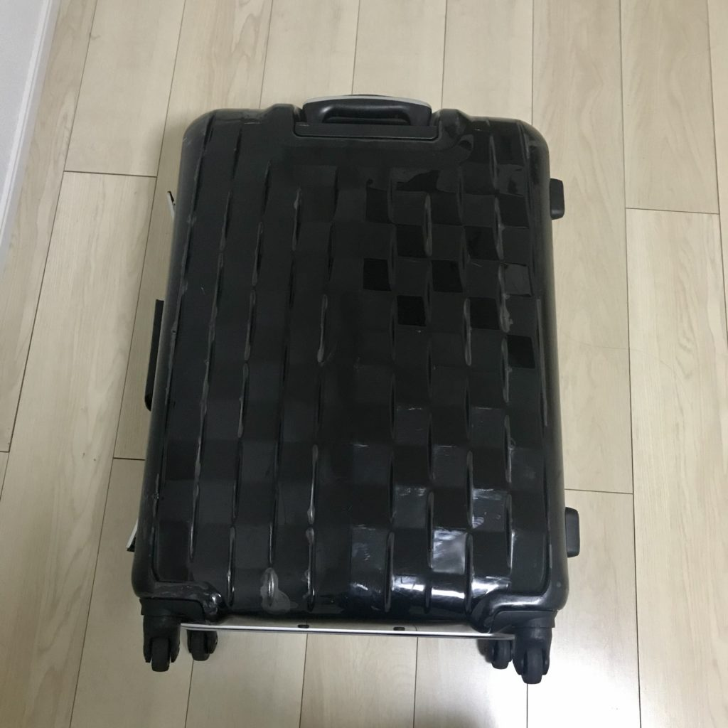 実際に手放したスーツケース